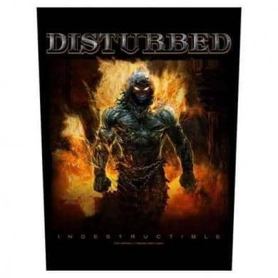 Backpatch Disturbed - Bravado - Fatima.Dk