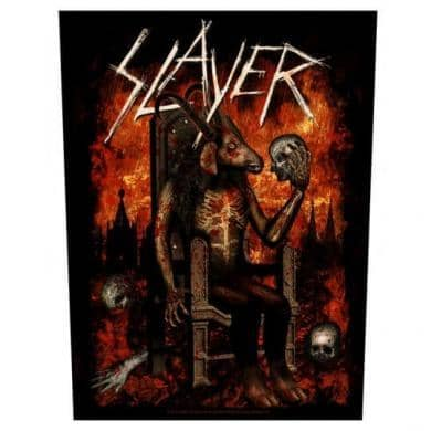 Backpatch Slayer - Bravado - Fatima.Dk
