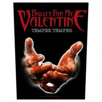 Backpatch Bullet for My Valentine - Bravado - Fatima.Dk
