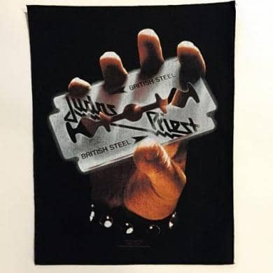 Backpatch Judas Priest - Bravado - Fatima.Dk