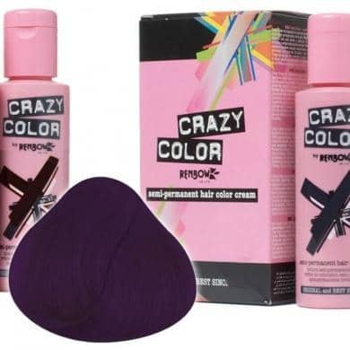Crazy Color Hårfarve Aubergine (100ml) - Crazy Color - Fatima.Dk