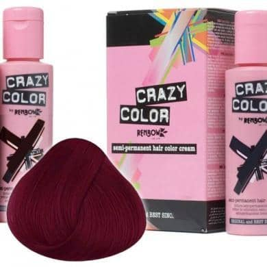 Crazy Color Hårfarve Bordeaux (100ml) - Crazy Color - Fatima.Dk