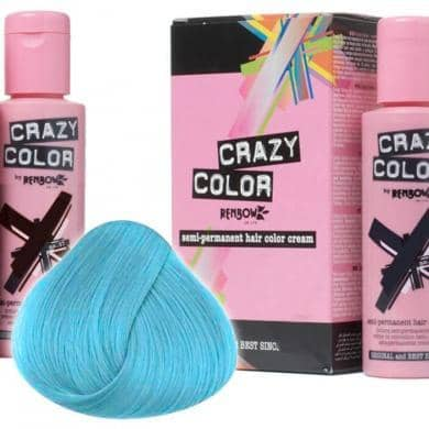 Crazy Color Hårfarve Bubblegum Blue (100ml) - Crazy Color - Fatima.Dk