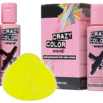 Crazy Color Hårfarve Canary Yellow (100ml) - Crazy Color - Fatima.Dk