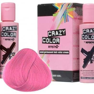 Crazy Color Hårfarve Candy Floss (100ml) - Crazy Color - Fatima.Dk
