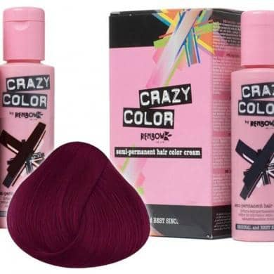 Crazy Color Hårfarve Cyclamen (100ml) - Crazy Color - Fatima.Dk