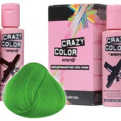 Crazy Color Hårfarve Emerald Green (100ml) - Crazy Color - Fatima.Dk