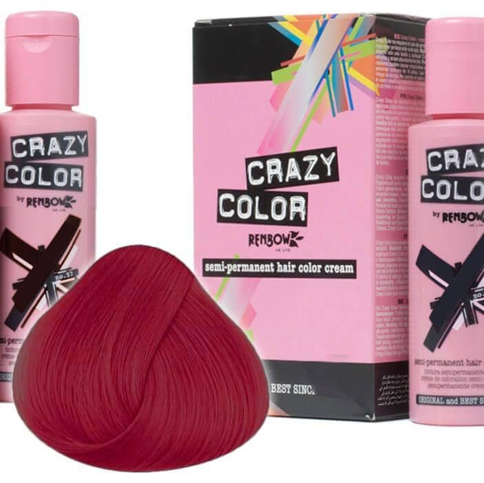 Crazy Color Hårfarve Fire (100ml) - Crazy Color - Fatima.Dk