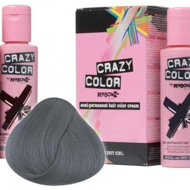 Crazy Color Hårfarve Graphite (100ml) - Crazy Color - Fatima.Dk