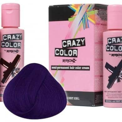 Crazy Color Hårfarve Hot Purple (100ml) - Crazy Color - Fatima.Dk