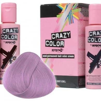 Crazy Color Hårfarve Ice Mauve (100ml) - Crazy Color - Fatima.Dk