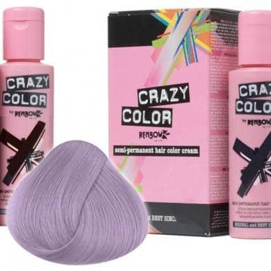 Crazy Color Hårfarve Lavender (100ml) - Crazy Color - Fatima.Dk