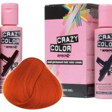 Crazy Color Hårfarve Orange (100ml) - Crazy Color - Fatima.Dk