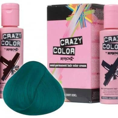 Crazy Color Hårfarve Peacock Blue (100ml) - Crazy Color - Fatima.Dk