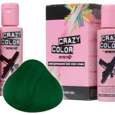 Crazy Color Hårfarve Pine Green (100ml) - Crazy Color - Fatima.Dk