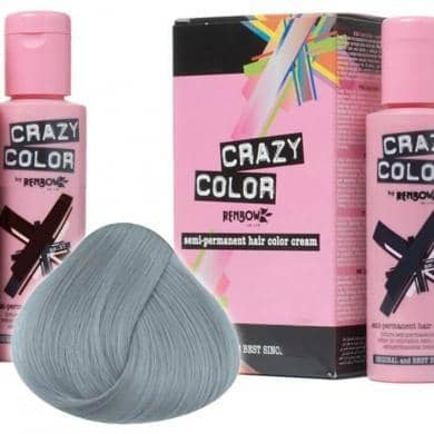 Crazy Color Hårfarve Platinum (100ml) - Crazy Color - Fatima.Dk