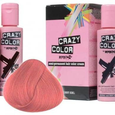Crazy Color Hårfarve Rose Gold (100ml) - Crazy Color - Fatima.Dk