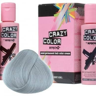 Crazy Color Hårfarve Silver (100ml) - Crazy Color - Fatima.Dk