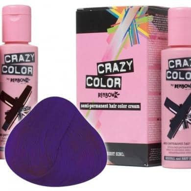 Crazy Color Hårfarve Violette (100ml) - Crazy Color - Fatima.Dk