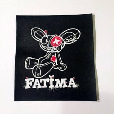 Patch Fatima Fake Leather