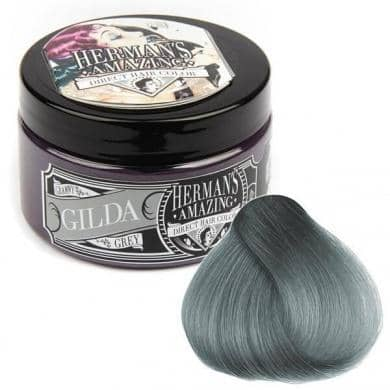Hermans Hårfarve Gilda Grey (115ml) - Hermans - Fatima.Dk