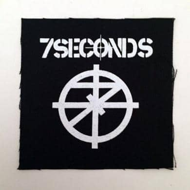 Patch Seven Seconds - Bravado - Fatima.Dk