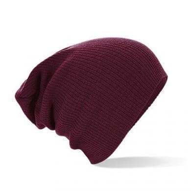 Hue Beanie Sloth Burgundy - Fruit and the loom - Fatima.Dk