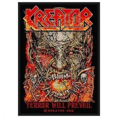 Patch Kreator Terror Will Prevail - Bravado - Fatima.Dk