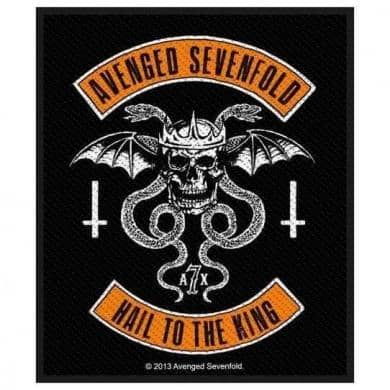 Patch Avenged Sevenfold Hail to the King - Bravado - Fatima.Dk