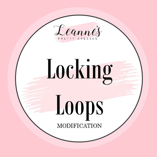 Add Lockable Loops to Your Custom Fit Dress
