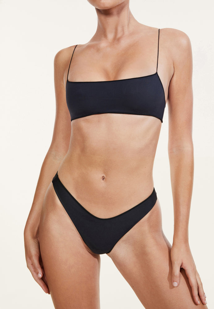 swimwear-the-C-bralette-two-piece-tube-top-low-scoop-neckline-skinny-elastic-straps-sustainable-fabric-eco-black-color