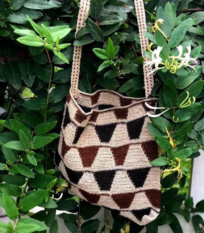 medium handwoven bag