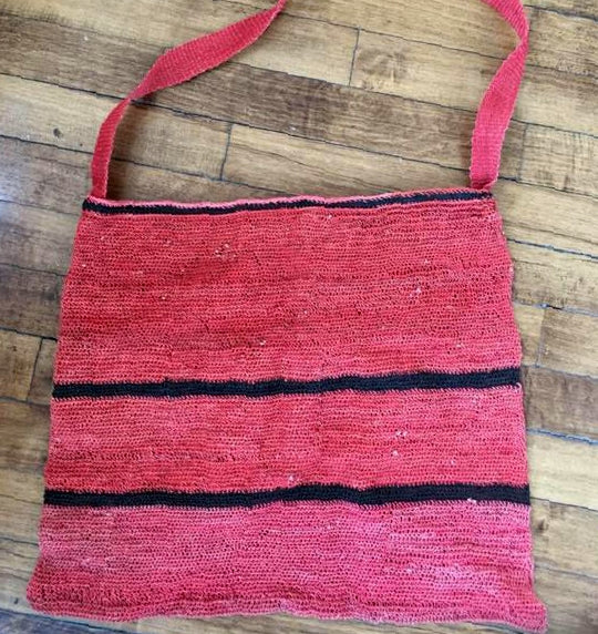 large handwoven bag
