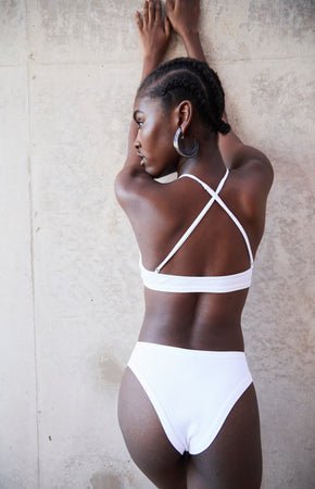swimwear-ripple-bottom-two-piece-high-waisted-high-cut-legs-white-color