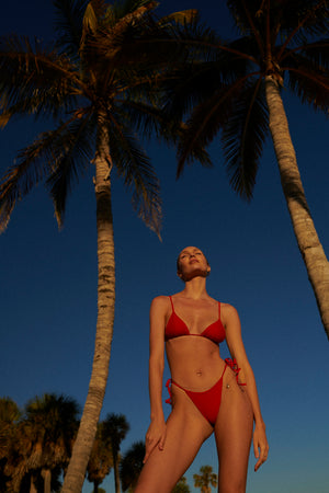 swimwear-equator-top-classic-triangle-two-piece-sustainable-eco-set-string-straps-red-poppy-color