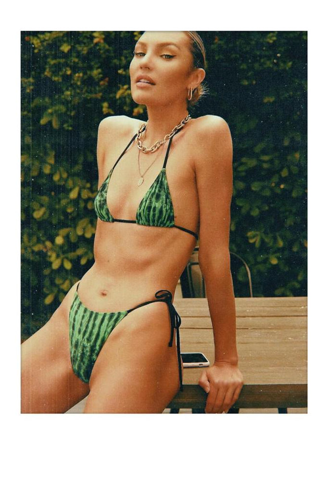 praia top in mystic green