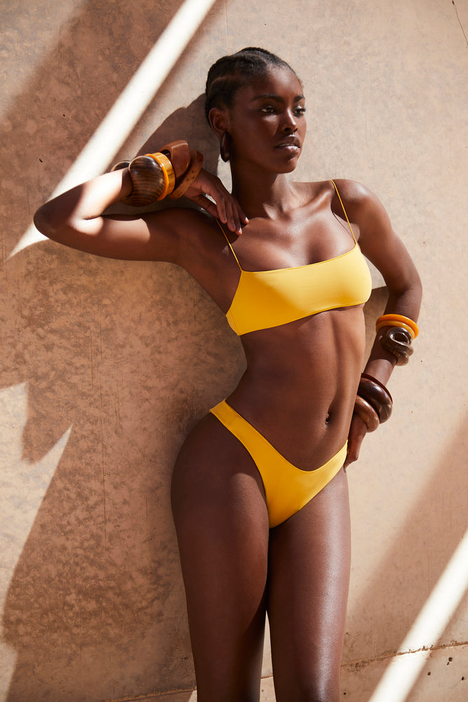 swimwear-curve-bottom-two-piece-sustainable-low-rise-high-cut-leg-yellow-color
