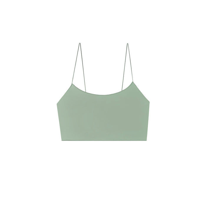 swimwear-the-C-crop-two-piece-crop-top-low-scoop-neckline-skinny-elastic-straps-sustainable-fabric-eco-mint-green-color