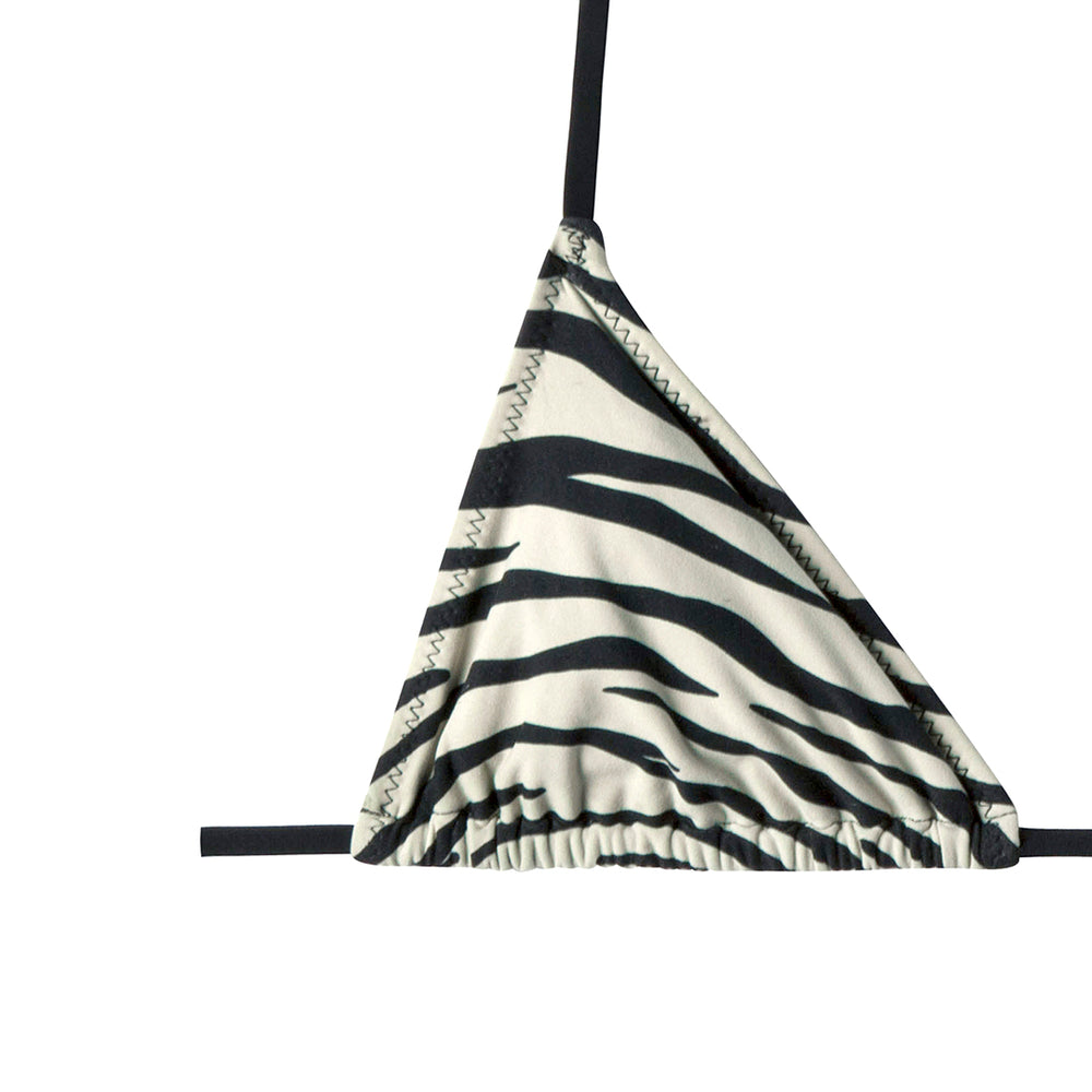 praia top in zebra shell
