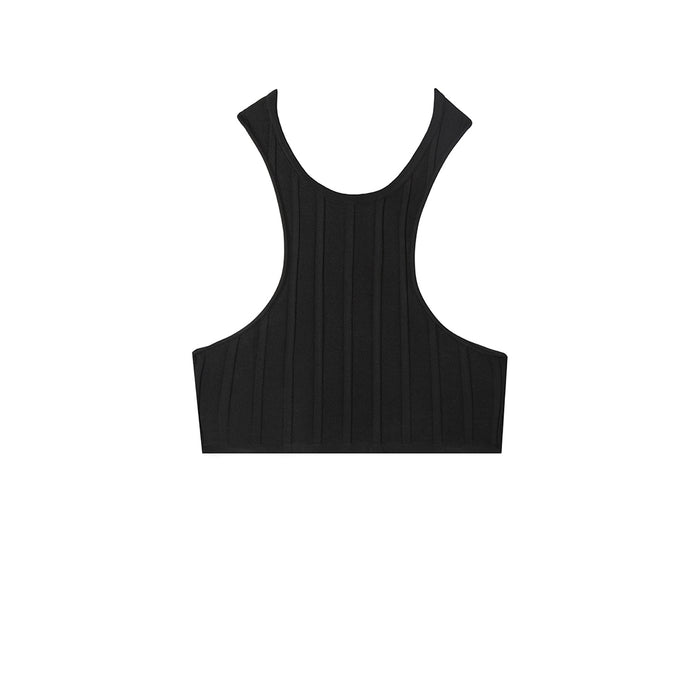 swimwear-arc-two-piece-top-crop-knit-racer-back-sustainable-zero-waste-rib-black-color