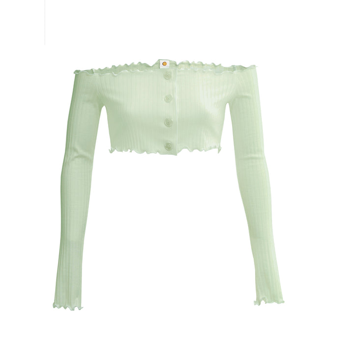 aria top in mint