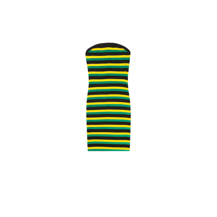 irie dress in rasta gold
