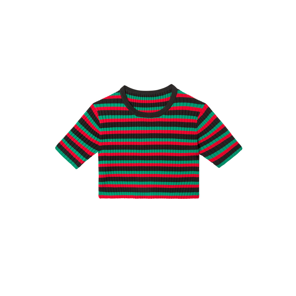 irie top in rasta red