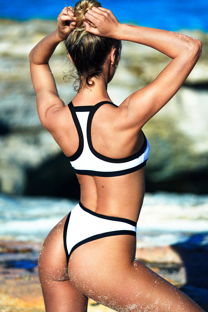 swimwear-volley-top-two-piece-racerback-contrast-binding-sustainable-fabric-eco-white-color