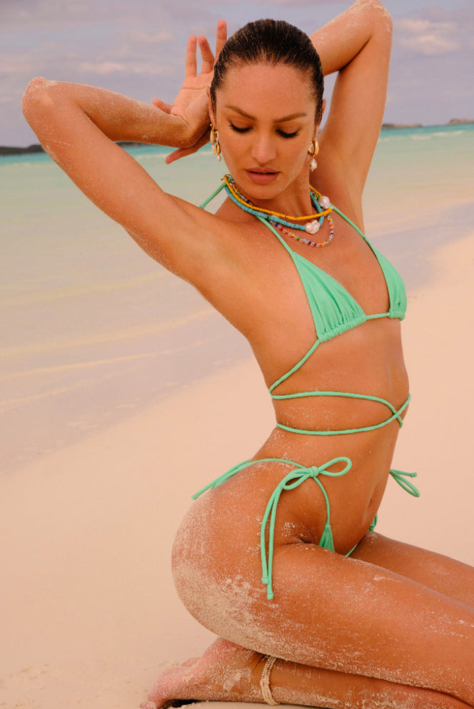 praia top in sea glass