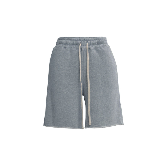 sweatC short in grey
