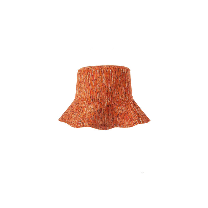 tropicana hat in saffron