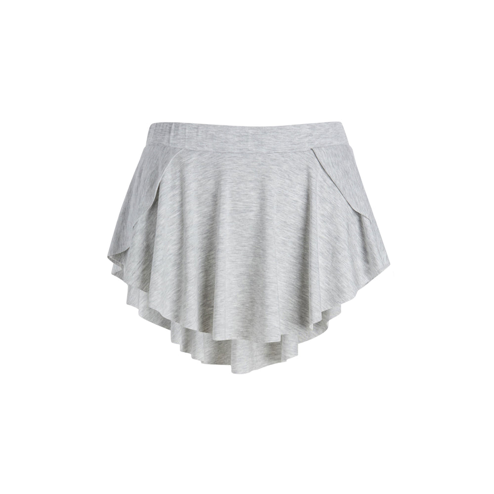 twirl skirt in grey