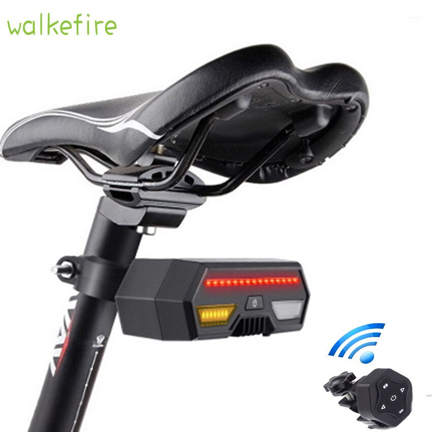 Wireless LED bicycle safety warning back light - Arcticebike.com