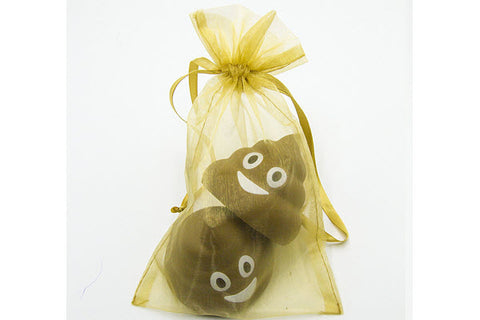 funny poop stress ball